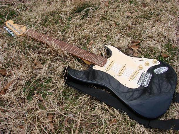 Adam's guitar